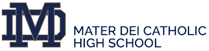 Mater Dei Catholic High School Logo
