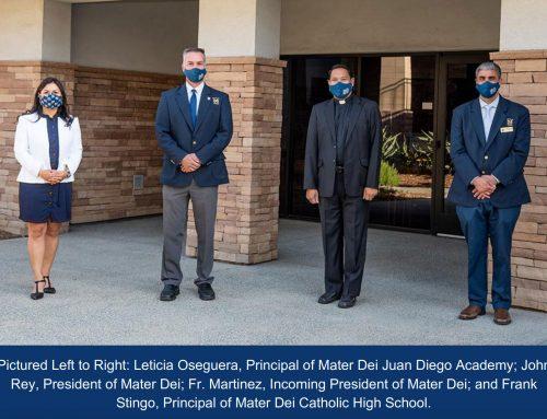 New Mater Dei President